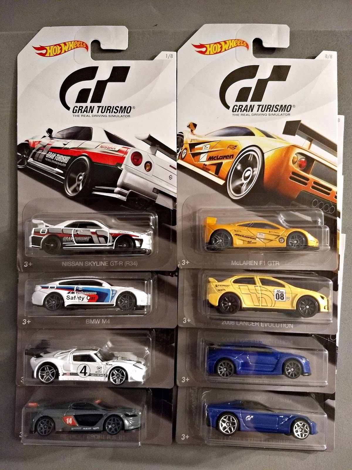 2018 hot wheels gran turismo series. Black Bedroom Furniture Sets. Home Design Ideas