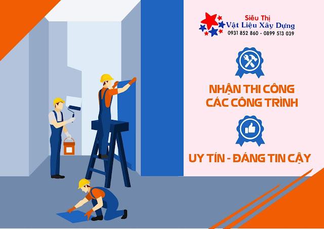 Yes Build nhận thi công thô tất cả các công trình xây dựng.