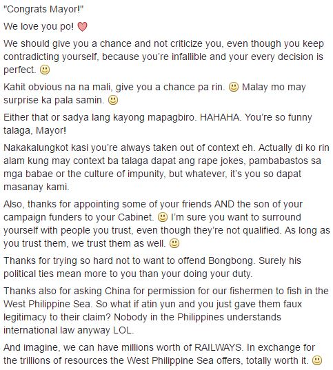 Must Read An Open Letter From A Up Student Addressed To The