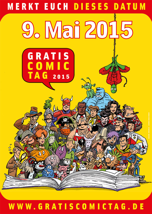 Gratis Comic Tag 2015