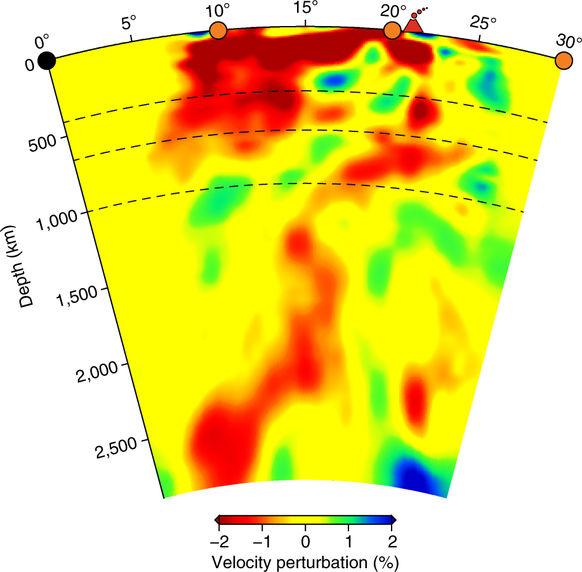 Nueva evidencia de penacho debajo del parque nacional Yellowstone