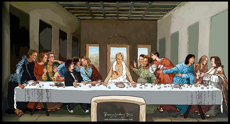 The Lesbian Last Supper