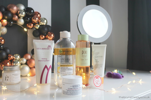 winter, skincare, beauty, merumaya, garnier, nip&fab, sanctuary spa, pixi beauty, kiehls