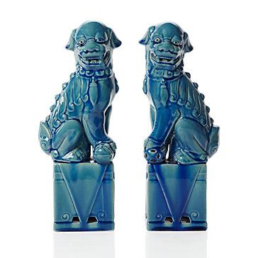 Vivid Hue Home Foo Dog Fervor