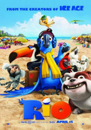 Rio 2011 BRRip 650MB Hindi Dual Audio 720p ESub Watch Online Full Movie Download bolly4u