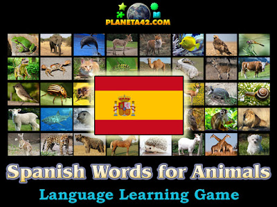 Испански Думи за Животни Игра