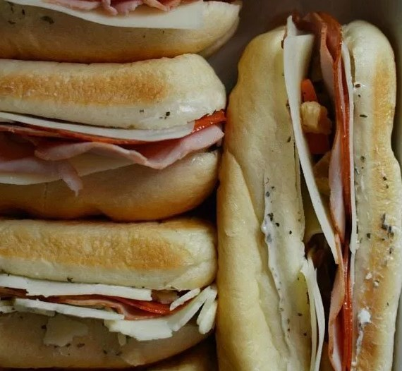 Hot Italian Sandwiches #lunch #meal