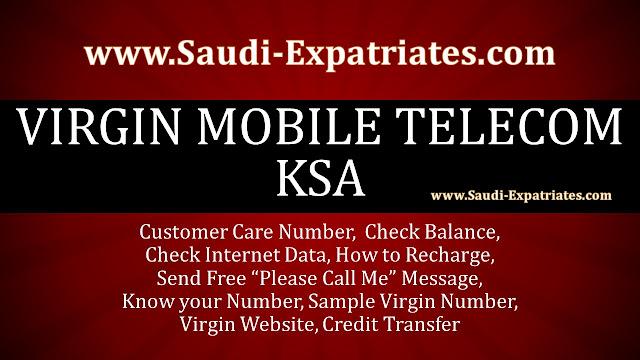 VIRGIN MOBILE TELECOM KSA