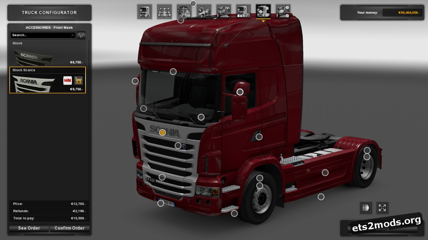 Scania R Accessories [1.26]