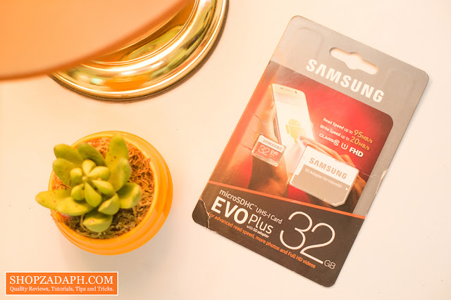 samsung evo plus 32gb microsd card Review