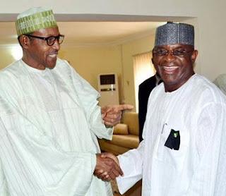 David Mark and Buhari