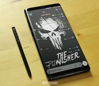 The Punisher Theme For GBWhatsApp By Luiz Santos
