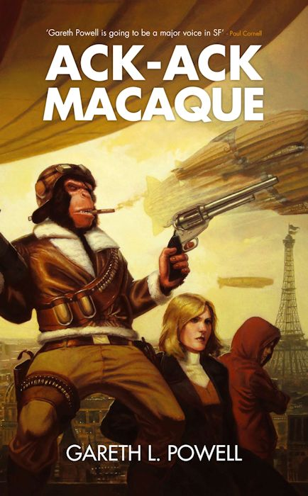 Review - Ack-Ack Macaque by Gareth L. Powell - December 22, 2012