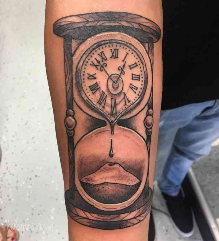 Tatuajes Del Reloj De Arena Significado Belagoria La Web De Los