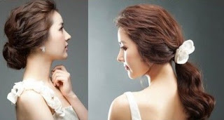 Model Rambut Panjang Korea 02