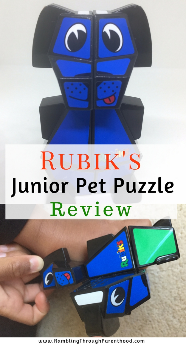 The Rubik's Pet Puzzle is a fantastic toy that encourages logical thinking and problem-solving skills. Available in four cute patterns - a puppy, kitten, bunny and bear, they are suitable for children as young as four.