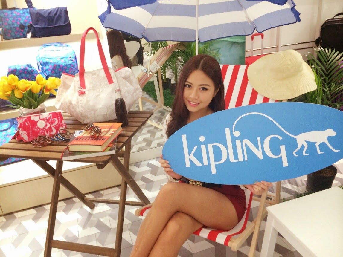 Kipling Summer 14 Collection - Sun & Fun Blogger Tea Party @ MidValley Megamall