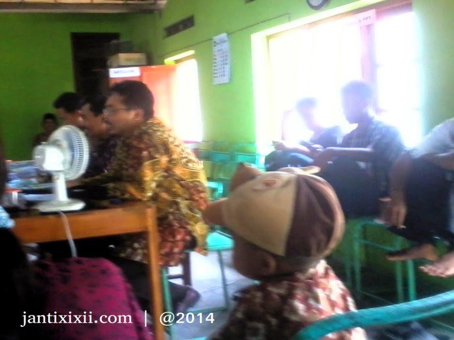 Pemilihan umum legislative di Janti Nanggulan
