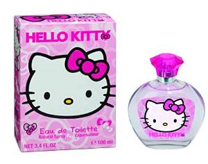 Hello Kitty Eau De Toilette Spray, 3,4 Ons