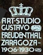 Logo del estudio fotográfico de Gustavo Freudenthal