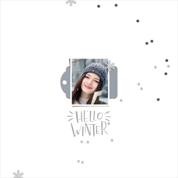 hello winter © sylvia • sro 2018 • december life 2018 by dandelion dust designs