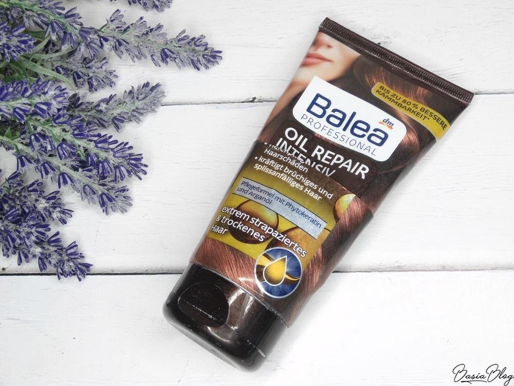 Balea Oil Repair odżywka do włosów recenzja