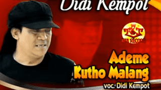Lirik Lagu Ademe Kutho Malang - Didi Kempot