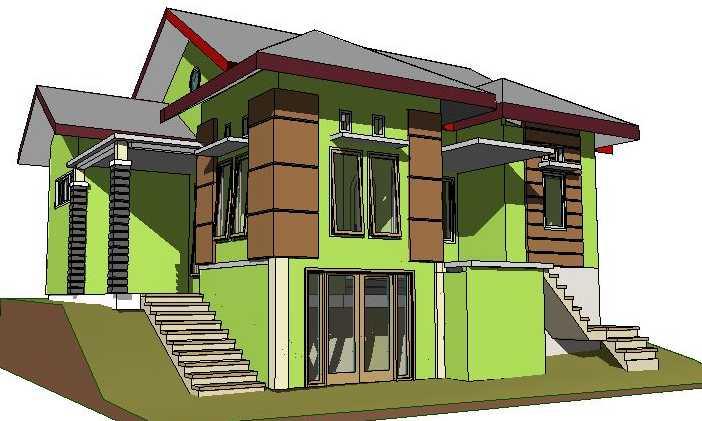 Denah Rumah Tanah Miring Model Rumah Minimalis 2020