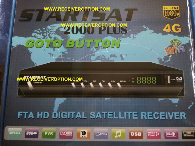 STARSAT 2000 PLUS HD RECEIVER POWERVU KEY OPTION