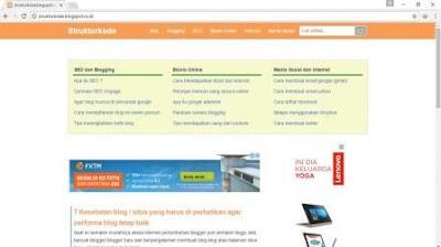 Belajar dari Artikel Panjang Blog Struktur Kode