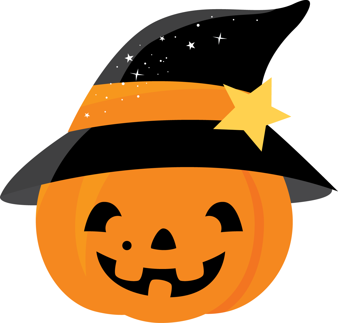 Halloween Pumpkin Clipart. - Oh My Fiesta! in english