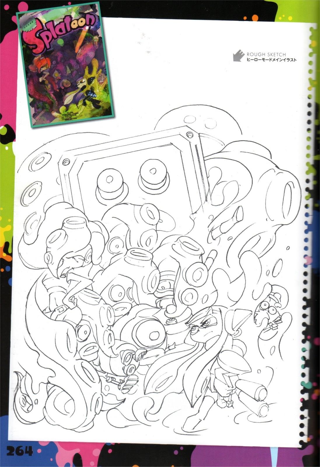 10 Coloriage Splatoon A Imprimer Imprimer Et Obtenir Une