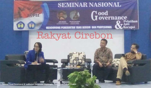 universitas majalengka gelar seminar good governance