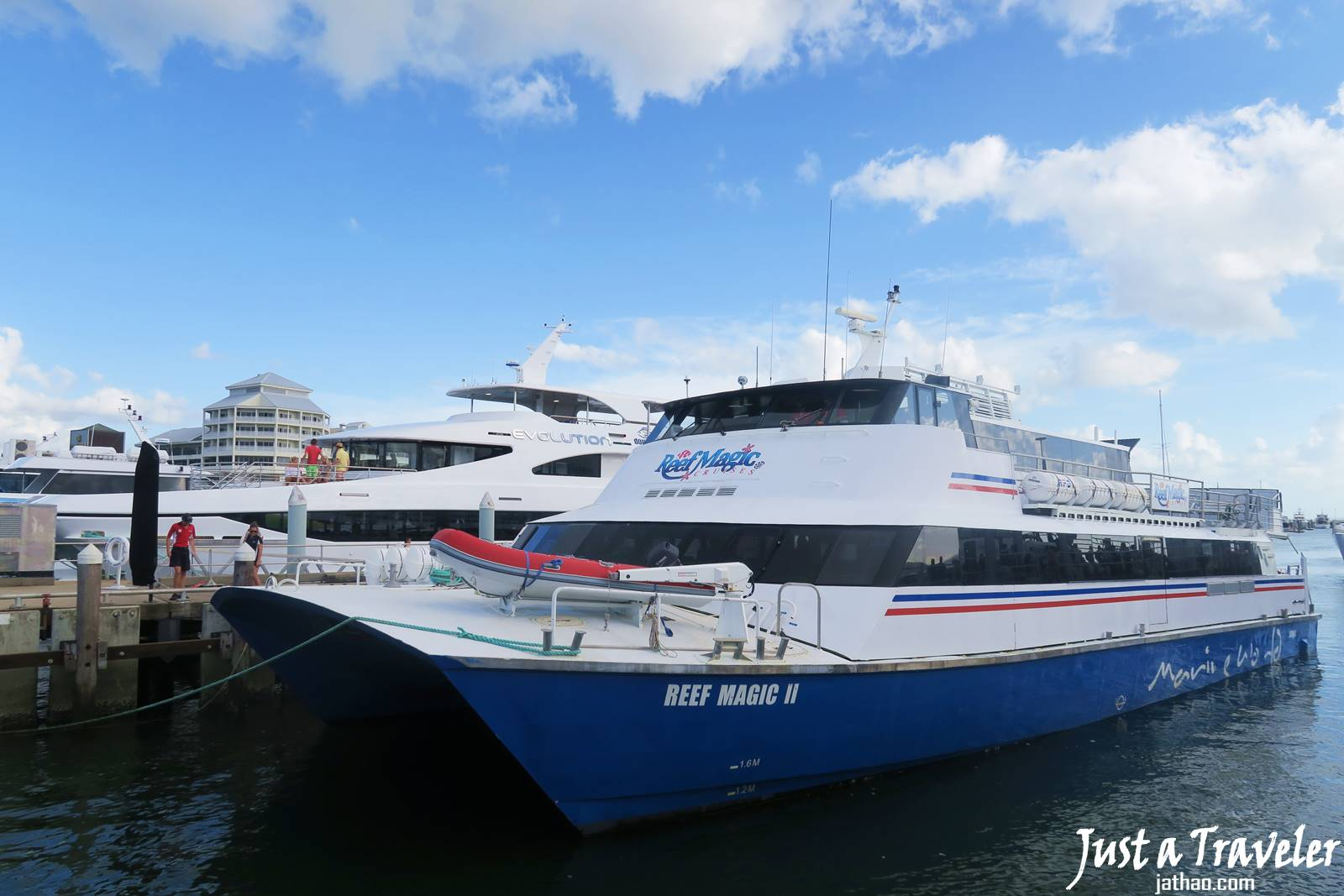 凱恩斯-港口-大堡礁-外堡礁-推薦-公司-旅遊-自由行-澳洲-Cairns-Outer-Great-Barrier-Reef-Travel-Australia