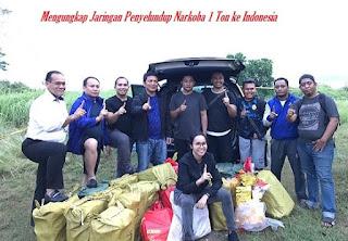 Mengungkap Penyelundupan Narkoba 1 ton ke Indonesia