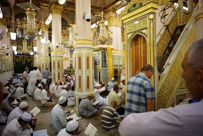 Mihrab Nabi di Masjid Nabawi Kembali Digunakan