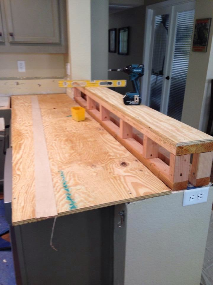 How To Build A Raised Bar Countertop Droughtrelief Org