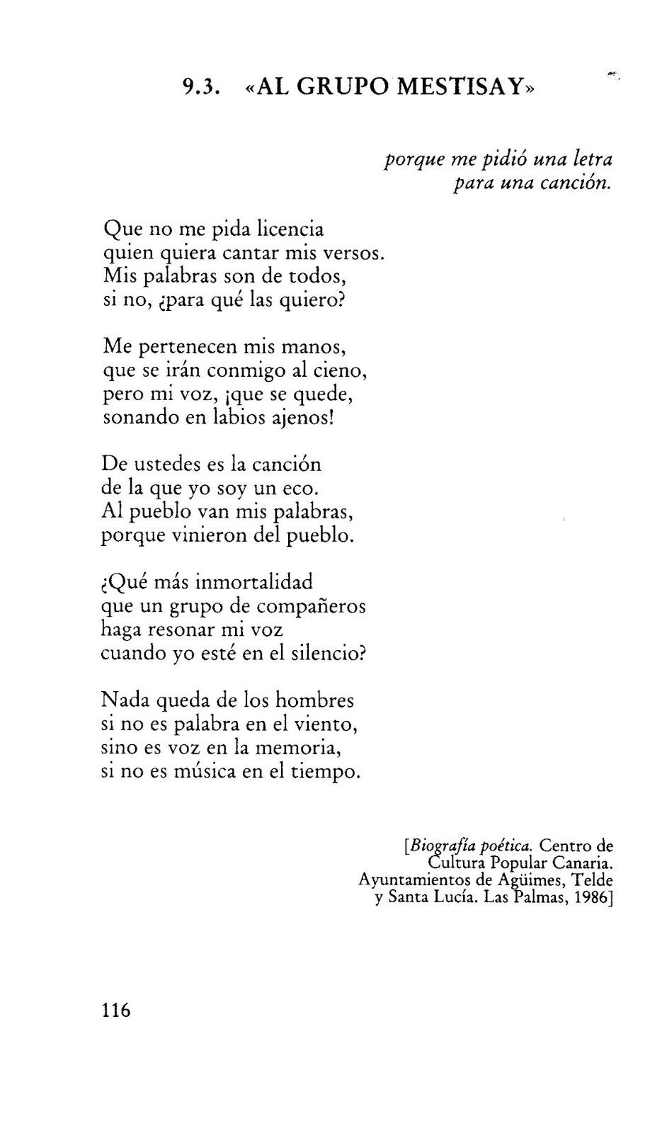 El gran yo soy letras - 20 De Febrero D A De Las Letras Canarias Este A O Dedicado Al Gran Poeta Pedro Lezcano