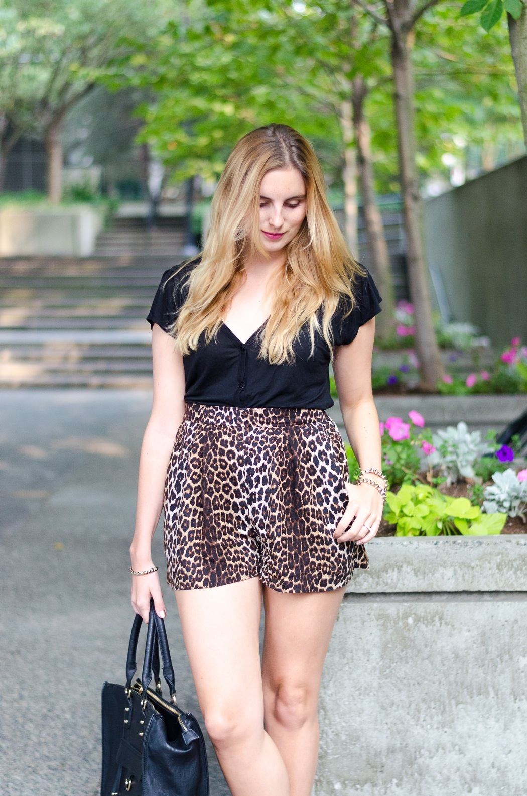 the urban umbrella style blog, vancouver style blog, vancouver fashion blog, vancouver lifestyle blog, vancouver health blog, vancouver fitness blog, vancouver travel blog, canadian faashion blog, canadian style blog, canadian lifestyle blog, canadian health blog, canadian fitness blog, canadian travel blog, bree aylwin, how to style leopard print, how to style high waist shorts, h&m leopard print shorts, how to wear cage heels, best lifestyle blogs, best fitness blogs, best health blogs, best travel blogs, top fashion blogs, top style blogs, top lifestyle blogs, top fitness blogs, top health blogs, top travel blogs