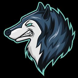 logo free fire serigala polos