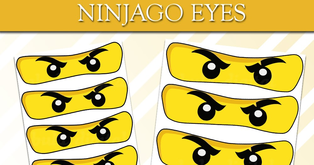 This is a photo of Printable Ninjago Eyes throughout blue