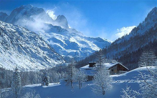 Inverno na França