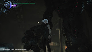 devil may cry 5 nightmare et V