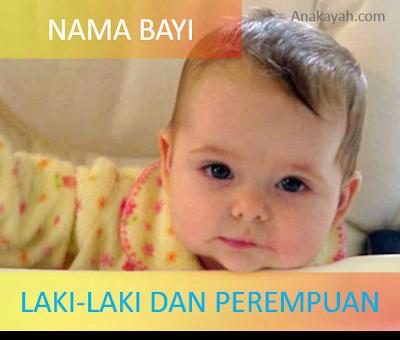 Nama bayi laki-laki dan perempua yang lahir bulan agustus