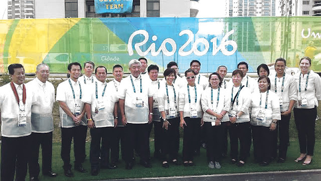Olympians in Barong, Pinoy athletes formalize Olympic entry
