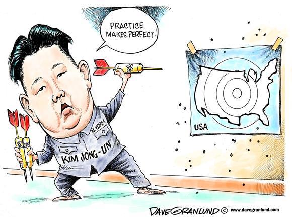 UN sanctions on North Korea political cartoons | Recent ... |Current Political Cartoons North Korea