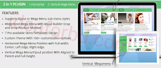 free mega menu WordPress plugin