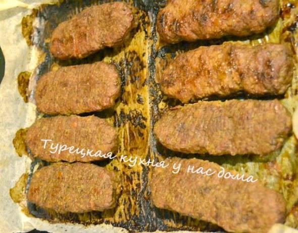 приготовить турецкий адана-кебаб дома