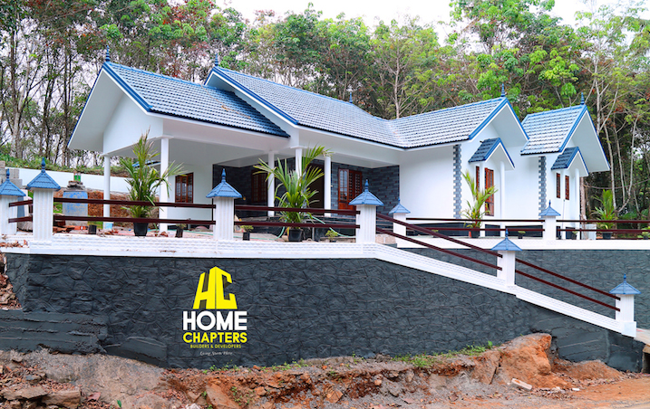 1675 sq ft 3 bedroom Kottayam style villa design ideas,Exterior design, home exterior, Kerala Home design, 3bhk, 3BHK home design, Traditional Sloping roof 3BHk Kerala House Design,