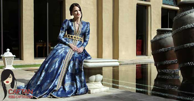 Caftan marocain / inspiration américaine de kaftan dress
